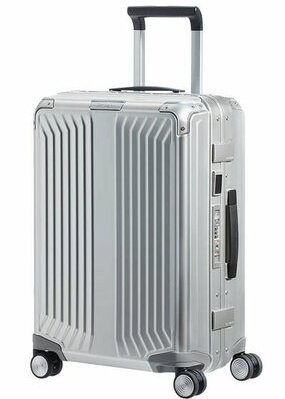 MALETA SAMSONITE LITE-BOX ALU 55CM COLOR ALUMINIO
